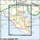 Maps - Wigtown Whithorn The Machars Explorer Map - Ordnance Survey