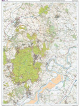 Maps - Wye Valley Forest Of Dean Explorer Map - Ordnance Survey