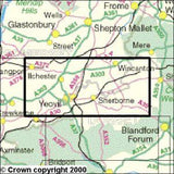 Maps - Yeovil Sherbourne Explorer Map - Ordnance Survey