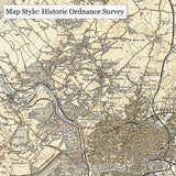 Personalised Resources - School's Duo Century Map