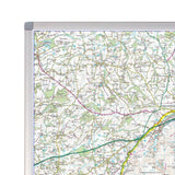 Wall Maps - Dartmoor - UK National Park Wall Map