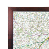 Wall Maps - Exmoor - UK National Park Wall Map
