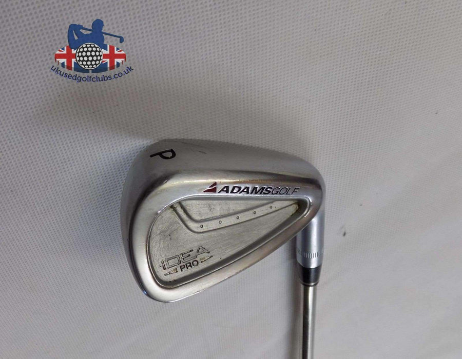 Adams Idea Pro Forged Pitching Wedge Black Gold Regular Steel Shaft Golf Pride Grip