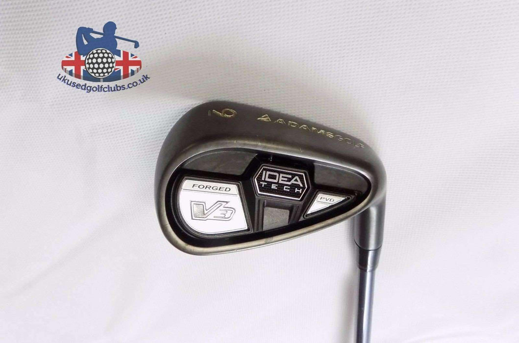 Adams Idea Tech V3 Forged 9 Iron Bassara Lite Flex Senior Graphite Shaft Adams Grip
