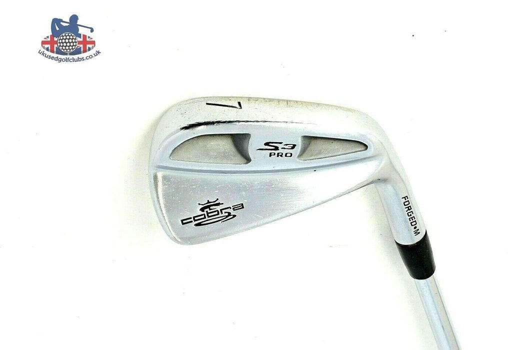 Cobra S3 Pro Forged M 7 Iron KBS Tour Extra Stiff Steel Shaft