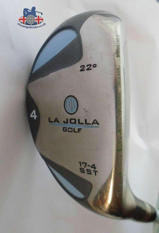Ladies La Jolla 22 degree 4 Hybrid Ladies Flex Graphite Shaft La Jolla Grip