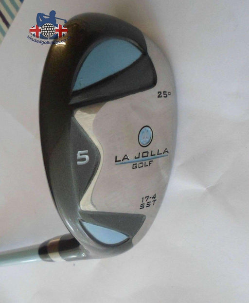 Ladies La Jolla 25 Degree 5 Hybrid Ladies Flex Graphite Shaft La Jolla Grip