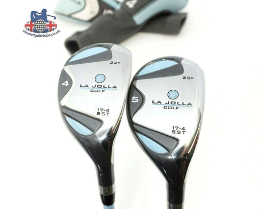 Ladies Set Of 2 x La Jolla 17-4 SST Hybrids 4 & 5 Ladies Graphite Shafts