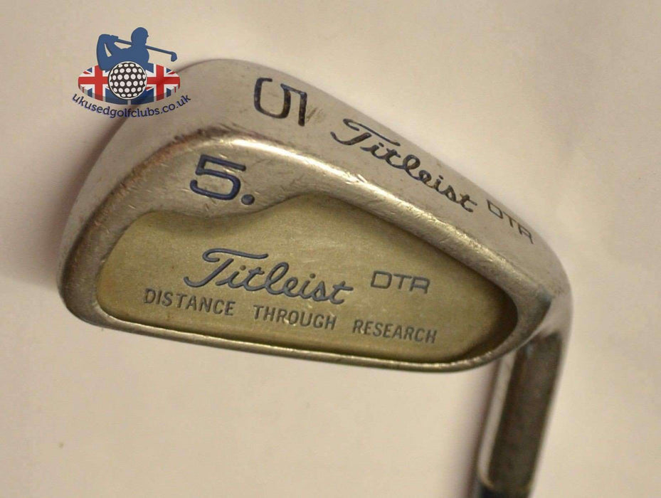 Ladies Titleist DTR 5 Iron True Temper Steel Shaft Chamois Grip