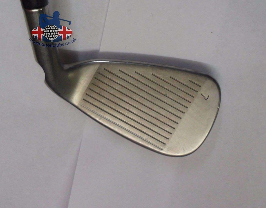 Left Handed Ping G Series Blue Dot 7 Iron S300 Stiff Steel Shaft Ping Grip