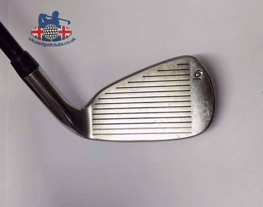 Left Handed TaylorMade Firesole Nickel/Steel 6 Iron Bubble R-80 Regular Graphite Shaft TaylorMade Grip