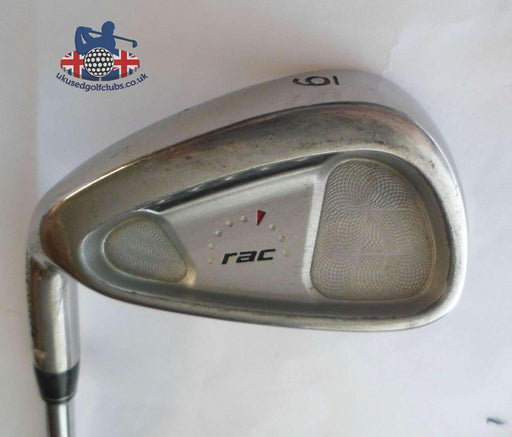 Left Handed TaylorMade RAC OS 6 Iron Regular Steel Shaft Golf Pride Grip