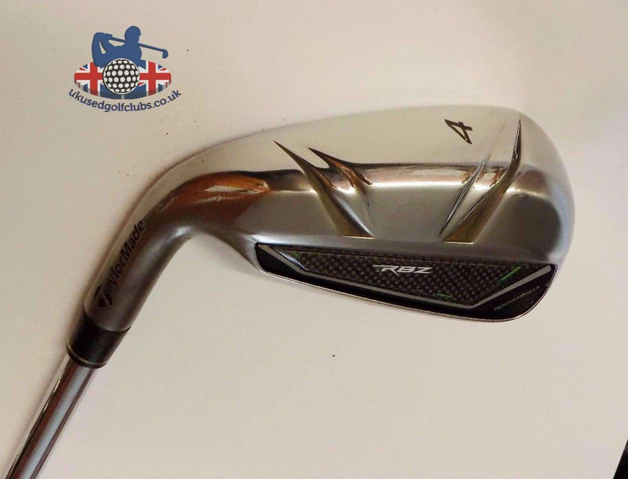 Left Handed TaylorMade RBZ 4 Iron Regular Steel Shaft TaylorMade Grip