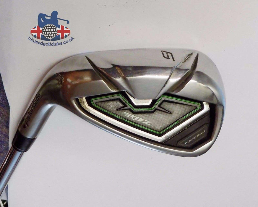 Left Handed TaylorMade RBZ 9 Iron Regular Steel Shaft TaylorMade Grip