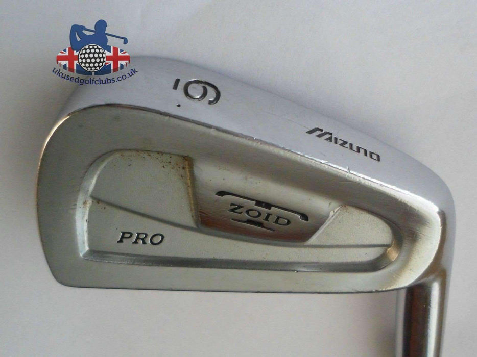 Mizuno T Zoid Pro 6 Iron Regular Steel Shaft Lamkin Grip