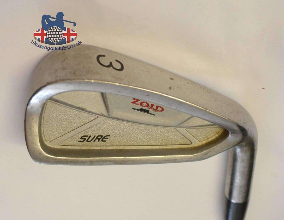 Mizuno T Zoid Sure 3 Iron Gold Plus R400 Steel Shaft Golf Pride Grip