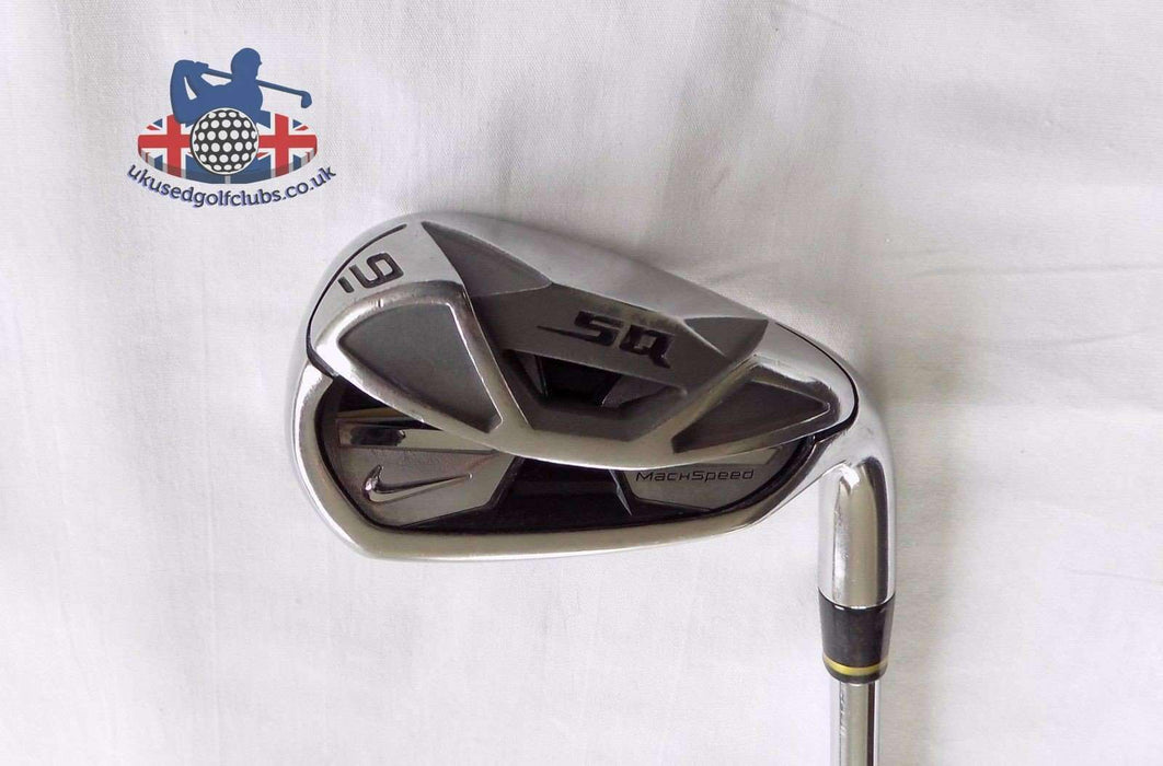 Nike SQ MachSpeed 9 Iron Dynalite 90 Stiff Flex Steel Shaft Nike Grip