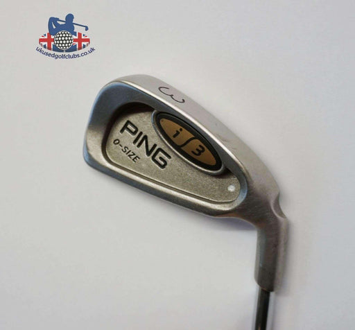 Ping i3 O Size Silver Dot 3 Iron JZ Stiff Steel Shaft Golf Pride Grip