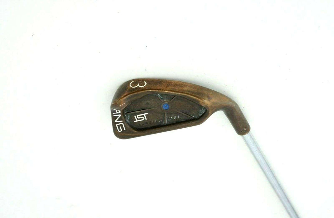Ping ISI BeCu Copper Beryllium Blue Dot 3 Iron Stiff Steel Shaft