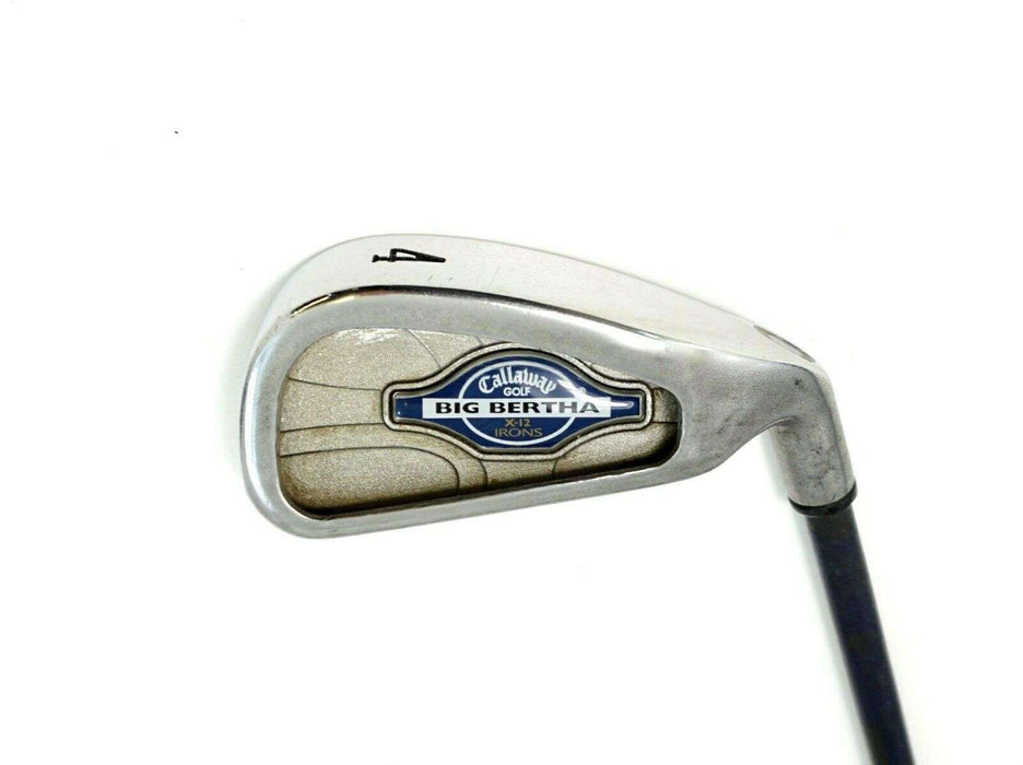 Callaway Big Bertha X12 Japan Issue 4 Iron Callaway Stiff Graphite Shaft