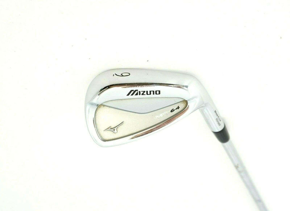 Mizuno MP64 Grain Flow Forged 9 Iron Stiff Steel Shaft Mizuno Grip