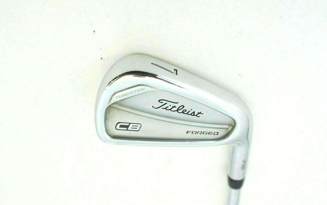 Titleist 716 CB Forged 7 Iron Rifle Project X 5.5 Regular Steel Shaft