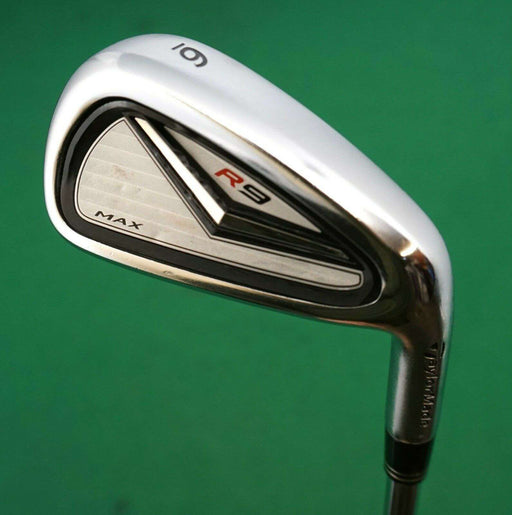 Taylor Made R9 Max 6 Iron Taylor Made Stiff Steel Shaft Golf Pride Grip