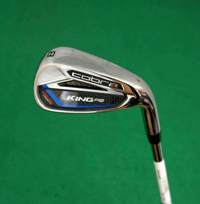 King Cobra F8 One Length 8 Iron Stiff Steel Shaft Cobra Grip