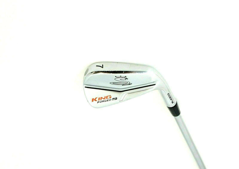 Cobra King Forged MB 7 Iron Stiff Steel Shaft Golf Pride Grip