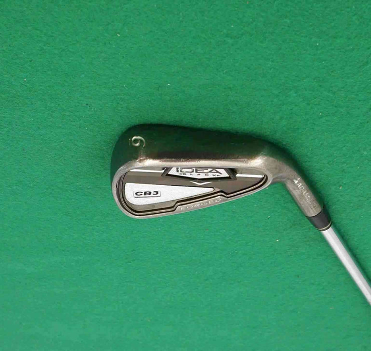 Adams Golf Idea Black CB3 Forged 6 Iron Regular Steel Shaft Lamkin Grip