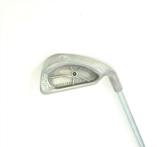 Ping ISI Black Dot 6 Iron JZ Cushin Stiff Steel Shaft