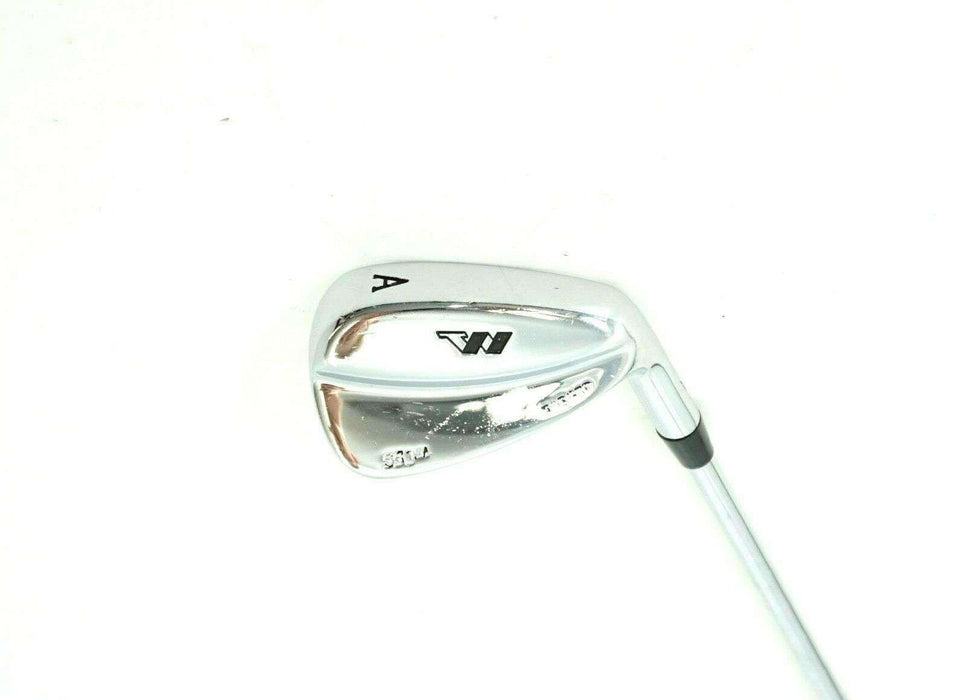 Wishon Golf 550M Forged A Wedge Stiff Steel Shaft Golf Pride Grip