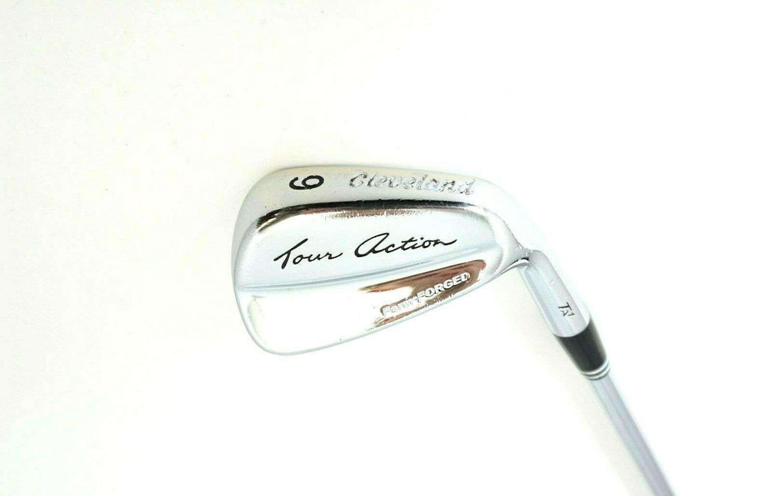 Cleveland Tour Action TA1 Forged 9 Iron Stiff Steel Shaft Cleveland Grip