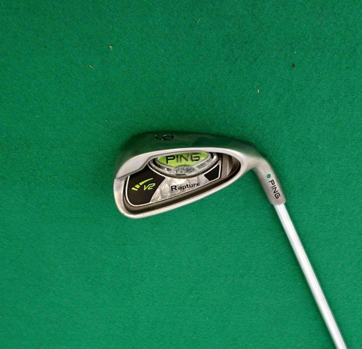Ping Rapture V2 Green Dot 9 Iron Regular Steel Shaft Iguana Golf Grip