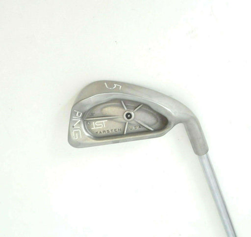 Ping ISI Black Dot 5 Iron JZ Cushin Stiff Steel Shaft
