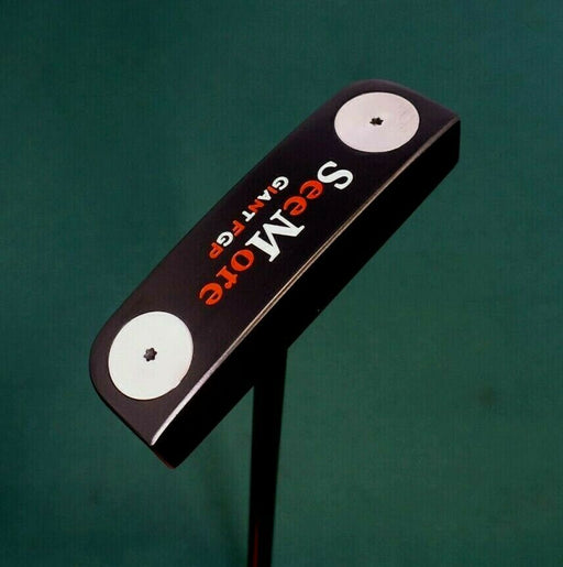 Black Cerakote SeeMore Giant FGP Putter