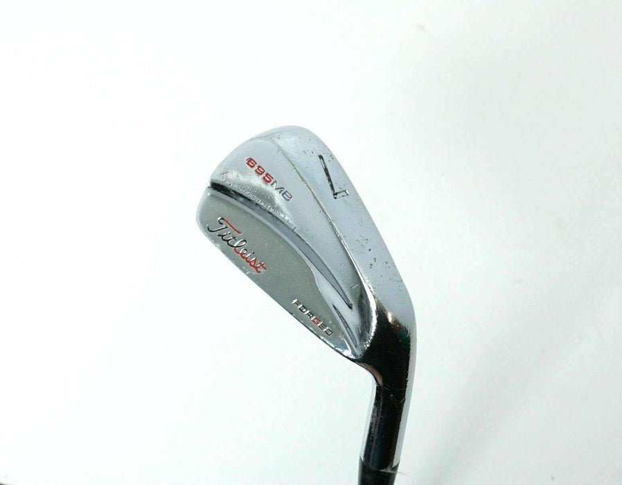 Titleist 695 MB Forged 7 Iron Dynamic Gold S300 Stiff Steel Shaft Titleist Grip