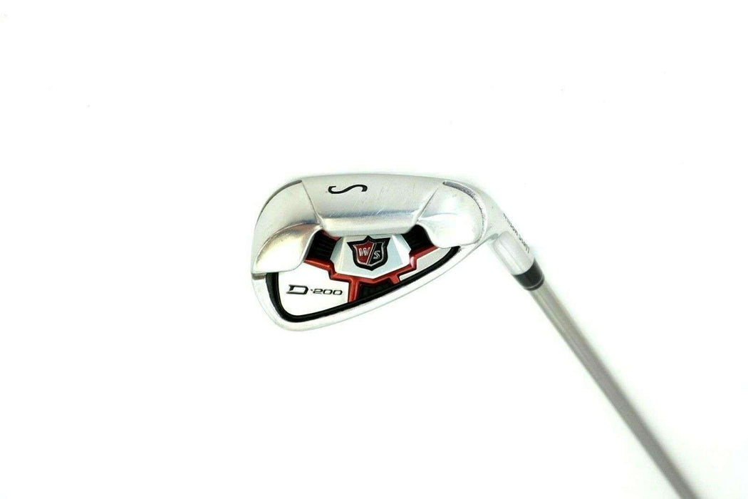 Ladies Wilson Staff D-200 Sand Wedge Ladies Graphite Shaft Wilson Staff Grip
