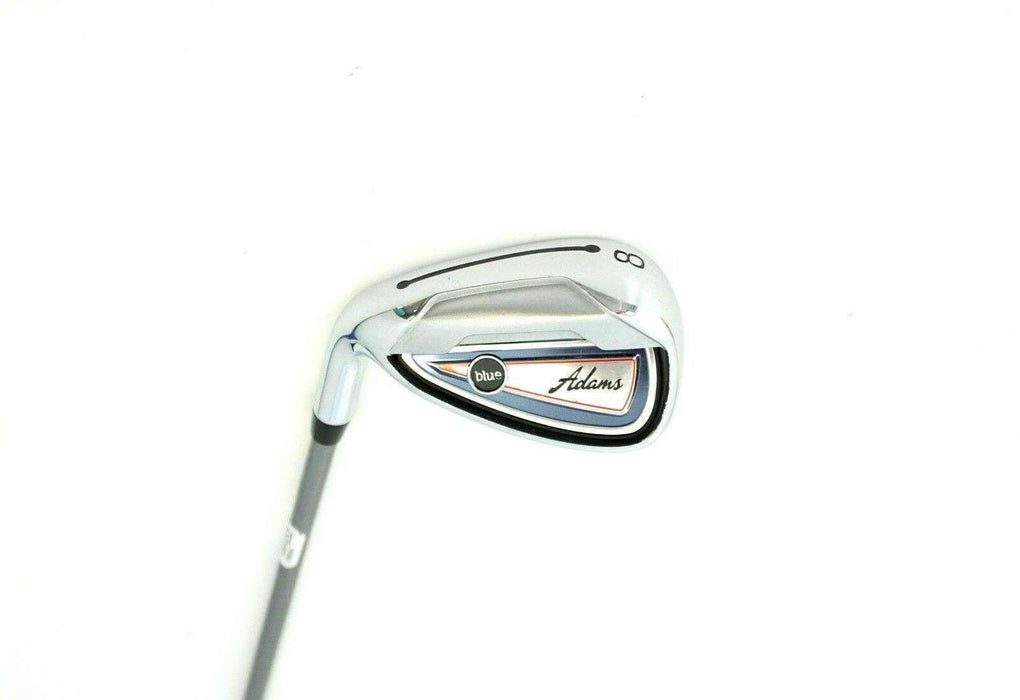 Left Handed Adams Blue 8 Iron Regular Graphite Shaft Adams Grip
