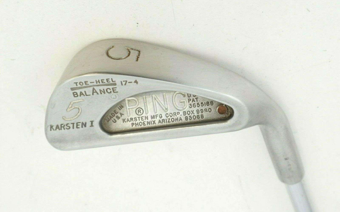 Ping Karsten I Brown Dot 5 Iron Ping Regular Steel Shaft Ping Grip