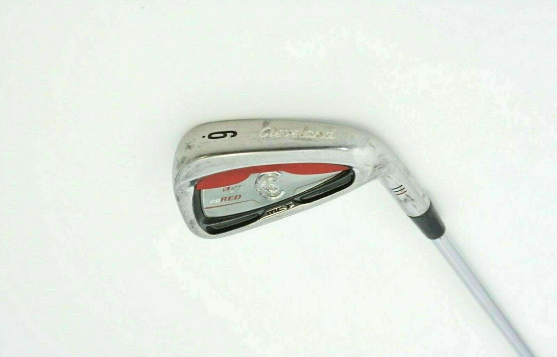 Cleveland MCT CG Red 6 Iron True Temper Stiff Steel Shaft Cleveland Grip