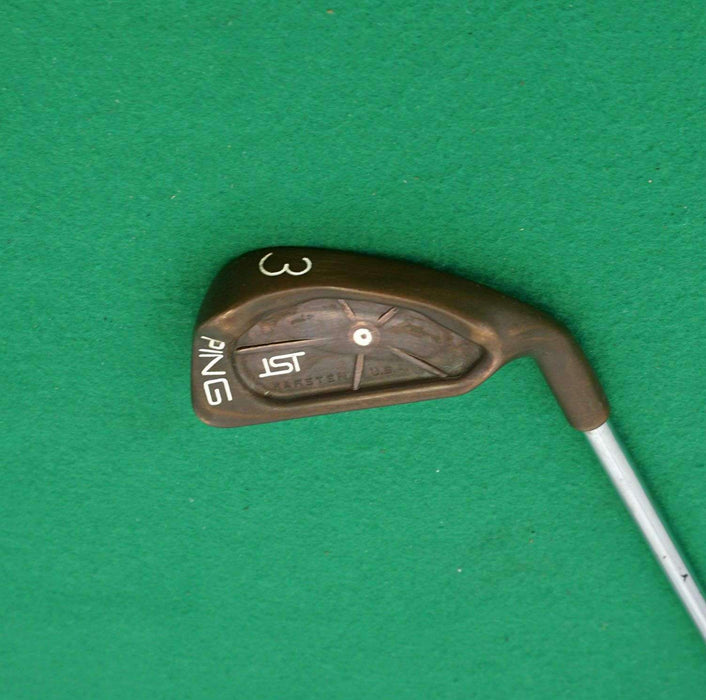 Ping ISI BeCu Copper Beryllium White Dot 3 Iron Regular Steel Shaft