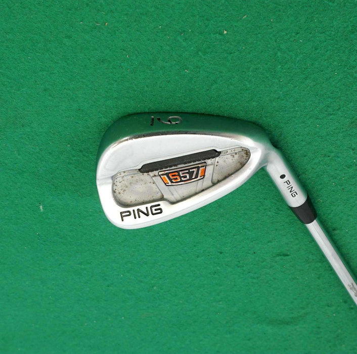 Ping S57 Black Dot 9 Iron Extra Stiff Rifle Steel Shaft Super Stroke Grip