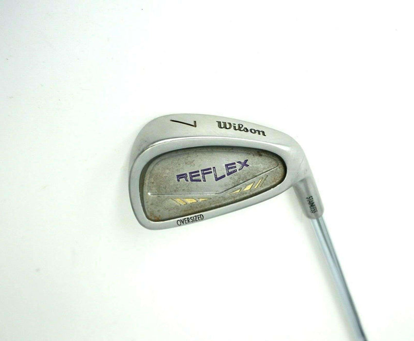 Wilson Reflex Oversize 7 Iron Regular Steel Shaft Wilson Grip