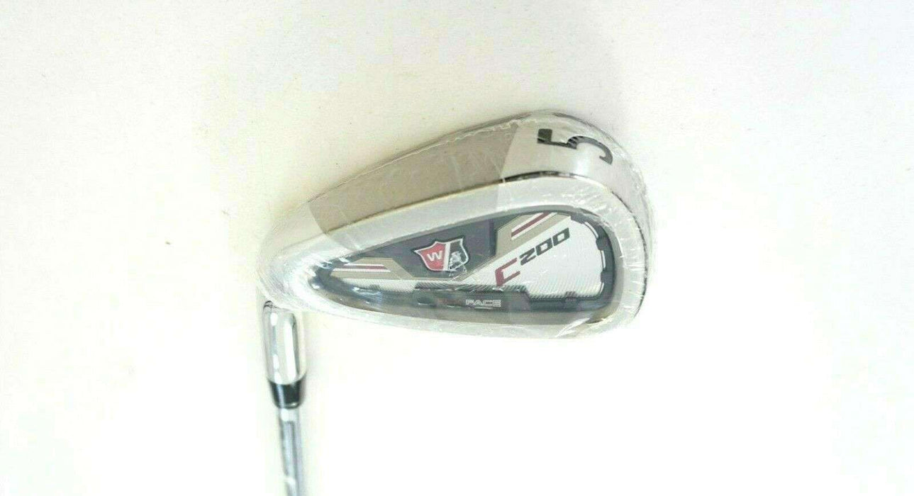 Left Handed Wilson Staff C200 5 Iron KBS Regular Steel Shaft Wilson Staff Grip
