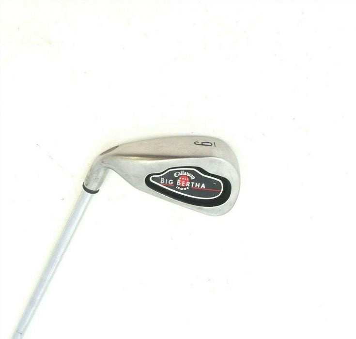 Left Handed Callaway Big Bertha Irons 6 Iron Uniflex Steel Shaft Lamkin Grip