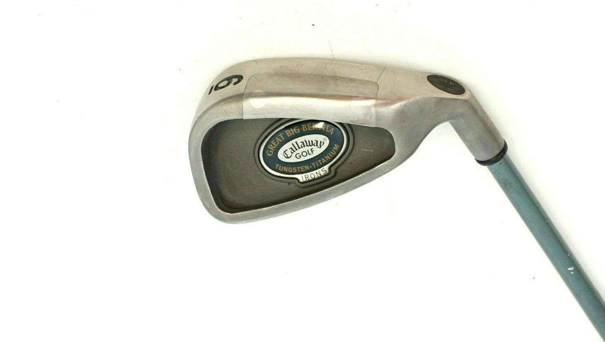 Ladies Callaway Great Big Bertha 6 Iron Callaway Ladies Graphite Shaft