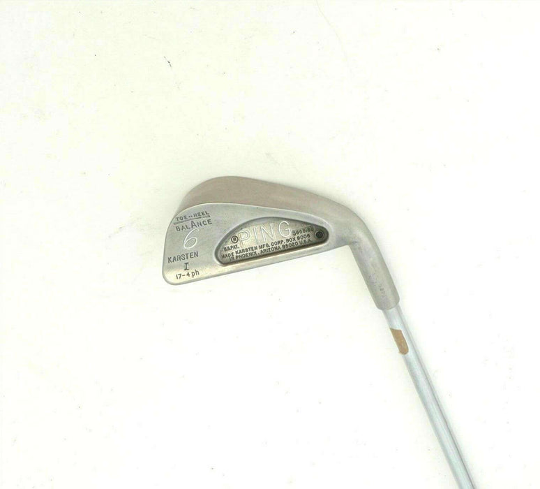 Ping Karsten I Black Dot 6 Iron Regular Steel Shaft Ping Grip