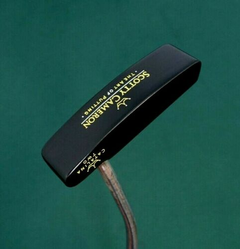 Black Cerakote Titleist Scotty Cameron Catalina Two Putter