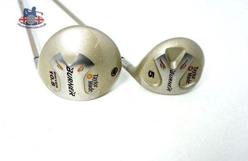 Set 2 x Ladies TaylorMade Burner Woods 1 & 5 Ladies Graphite Shafts